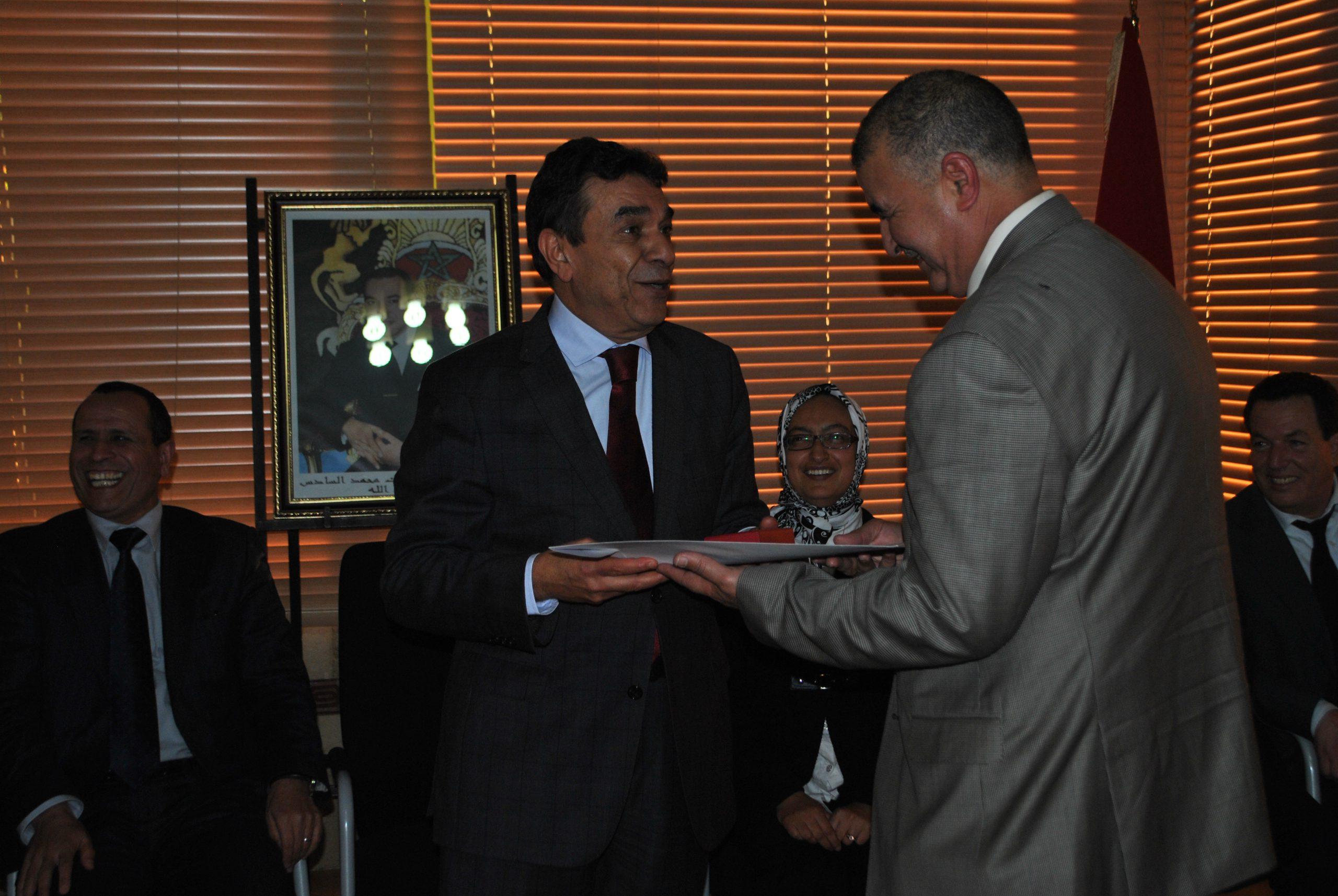 Médaille Royale à M. Abdellatif RAHMOUNE